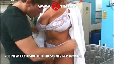 Special Fucking BIG Cock for a young Bitch. on xtime.tv