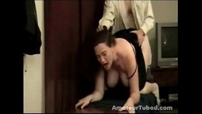Mom hard doggy - 2 min