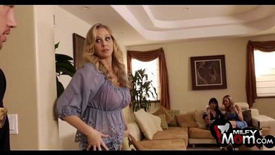 Brandi Love Eva Karera and Julia Ann fuck together - MilfyMom.com - 2 min