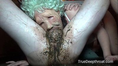 Granny PAWG Pukes during Facefuck www.TrueDeepthroat.com - 28 sec
