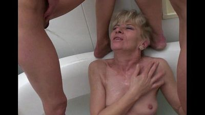 Mature pissing compilation - 3 min