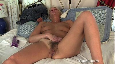 Slim MILF Barbie Toy Her Hairy Twat - 6 min HD