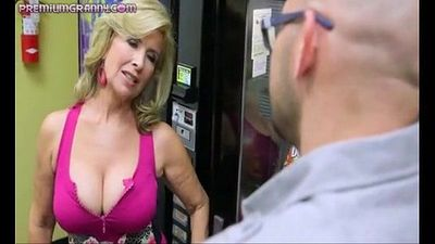 Superb busty cougar fucked hard - 6 min