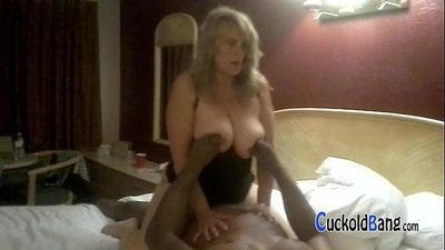 Chubby blonde hotwife with new bull CuckoldBang.com - 4 min