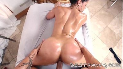 Latina MILF Diamond Kitty Rides Big Dick Hard Like a Pro in HD ap14878 NEW - 7 min HD