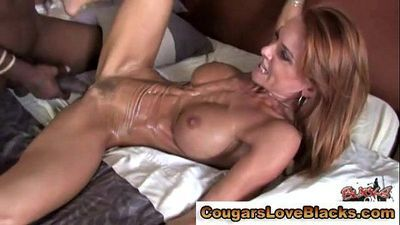 Mature couger fucked by black man meat - 5 min