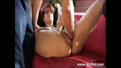 The slave is brutally fisted by her master - 9 min