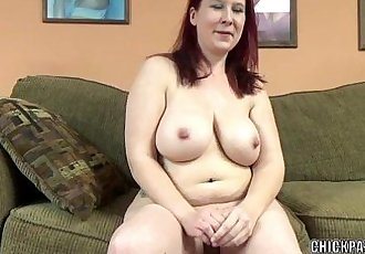 Mature redhead Lia Shade is blowing a dude she just met - 6 min HD