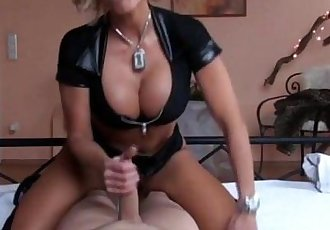 Busty MILF Kada Love sucks