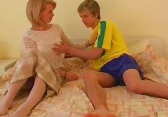 Young footballer fucked beautiful Milf in different positions