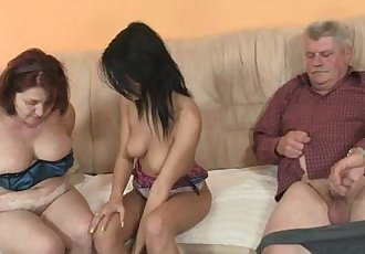 Dude bits his parents fucking his chick - 6 min