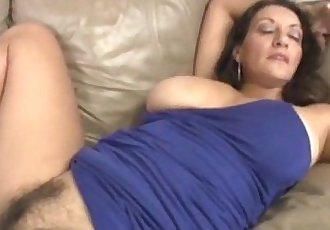 Busty Milf Handjob And Pussy Rubbing