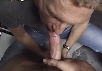 Cum Eating Mature Man