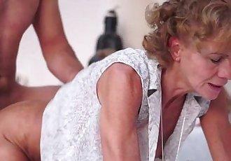 Sensual 72yo Hairy Granny Madie Mccrea - 9 min