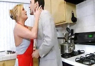 Hardcore Mature Milf in Kitchen - 4 min