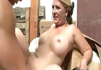 Jocelyn rides on a dick