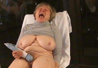 BEST mature 12 orgasms hotel window curvy exhibitionist MarieRocks - 2 min
