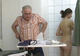 Hot Cum For The Hot Patient - 5 min HD
