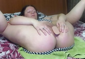 plug in gaping ass mature woman