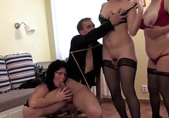 Horny mature ladies sharing a guy
