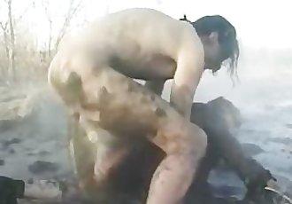 Moms dirty fuck outdoor