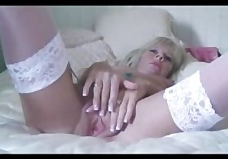 Petite Blonde Milf With Nice Nipples