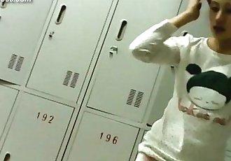 中國 女孩 洗澡 集合 - 12 min