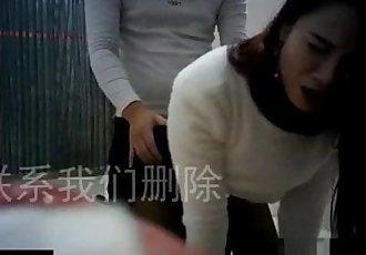 性愛 與 honry 業余的 中國 家庭主婦 - 5 min