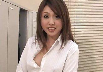 小姐 Rino 让 她的 感谢 与 一个 讨厌的 脚交 - 59 sec
