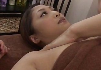 Superb massage session with a lesbian babe for Maika - 12 min