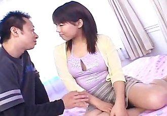 日本 av 模型 已 乳頭 捏 和 毛茸茸的 裂紋 擰 - 10 min