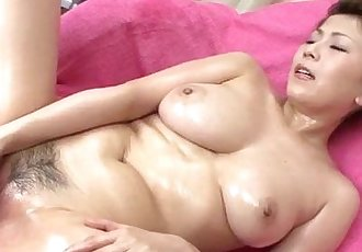 Yuki Aida enjoys pussy stimulation on cam - 12 min