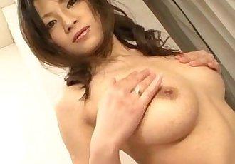 Sensual pussy solo along bustyRyo Sasaki - 12 min