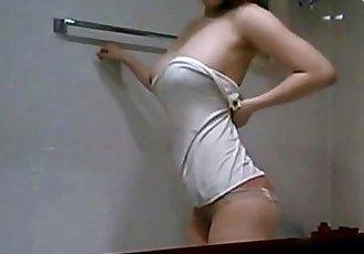 korean hot beauty taking a shower - 18 min