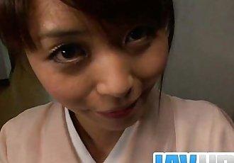 青少年 Marika 让 一个 亚洲 pov 吹箫 和 燕子 暨 - 8 min