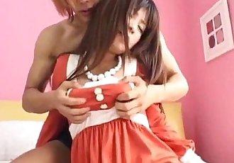 Superb porn show along insolent Mimi Kousaka - 10 min