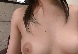 Maria Ozawa using her sex toy so she gets off strong - 58 sec