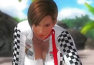Dead or alive 5 Lisa hot Milf is a fucking hot race queen ready to fuck !