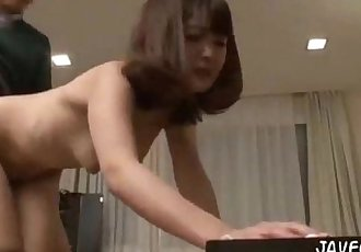Japanese maid getting fucked. Full video http://zo.ee/93D - 2 min