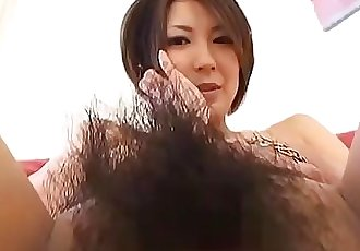 Subtitled Japanese amateur perfect bush naked body check 5 min