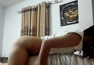 19-year-old Asian loves my fat cock