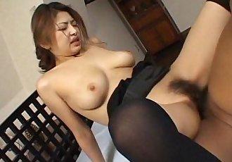 Busty Japanese babe wants it hard - 11 min