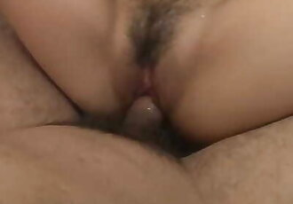 Amateur Babe on her back Gets Fucked