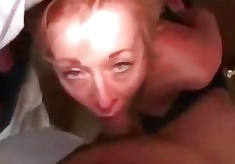 Old skinny mature mom granny anal and mouthfuck with two young boys