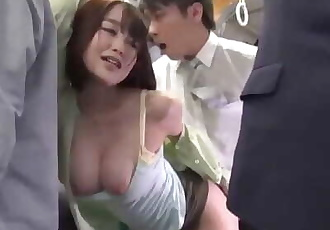 Japanese Huge Tits Fuck Hot Sexy on Bus