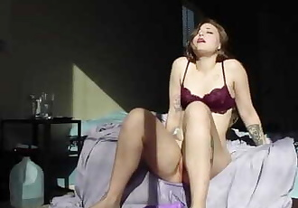 SQUIRTING like a FOUNTAIN in the Sunlight! Real Orgasms, Real Reacations!