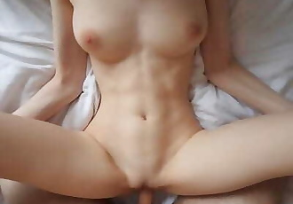 He Fucks me Good and I let him Cum inside Me! Amateur Creampie