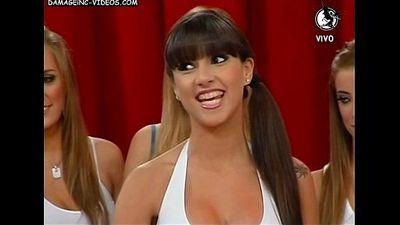 Gabriela Ahualli Upskirt Bowling - 1 min 23 sec
