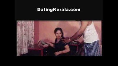 Mallu Teen Girl and Old Man Masala Video Clips - 1 min 7 sec