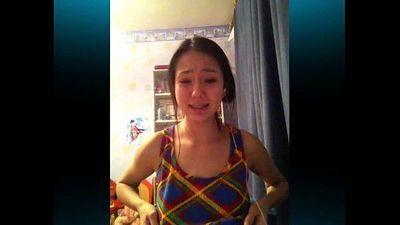 Girl showed her tits on Skype. - 43 sec